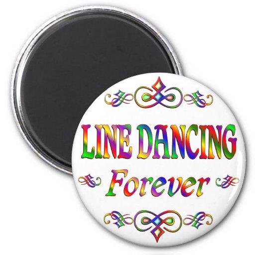 LINE DANCING FOREVER REFRIGERATOR MAGNETS