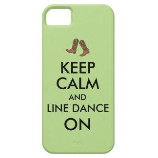 Line Dancing Gift Keep Calm Dancer Cowboy Boots iPhone SE/5/5s Case