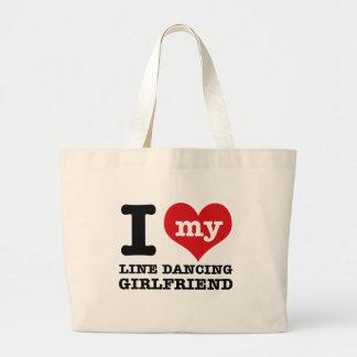 line dancing Girlfriend designs Bag