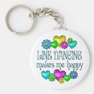 Line Dancing Happinness Keychain