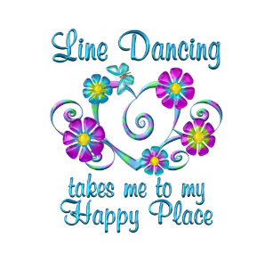 dbe153a5b Line Dancing Happy Place License Plate