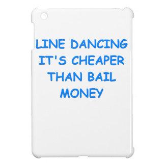 line dancing iPad mini cases