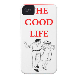 line dancing iPhone 4 cover