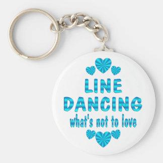 LINE DANCING LOVE KEYCHAIN