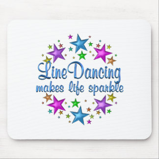 Line Dancing Makes Life Sparkle Mouse Pad