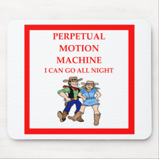 line dancing mouse pad