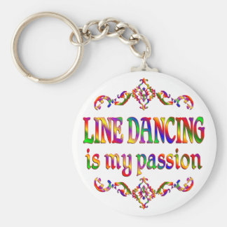 Line Dancing Passion Keychain