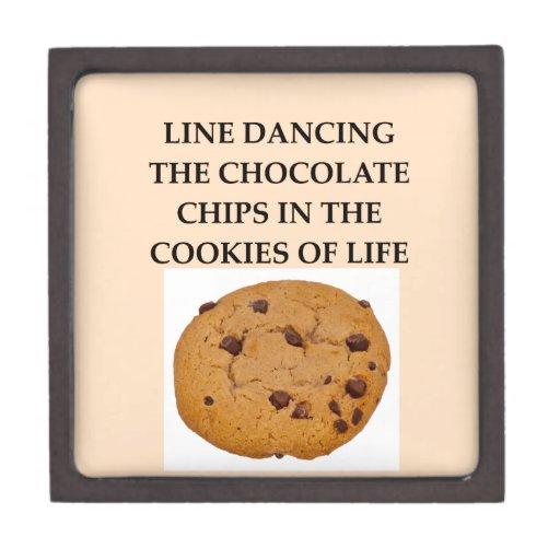 line dancing premium trinket box