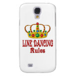 LINE DANCING RULES GALAXY S4 COVER