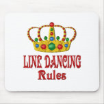 LINE DANCING RULES MOUSE PAD