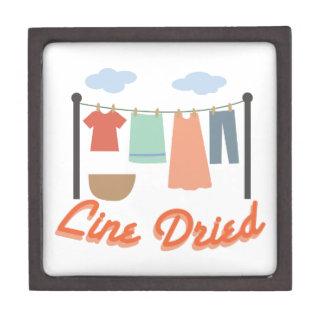 Line Dried Premium Trinket Box