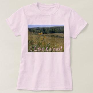 Line Femme T/Shirt/Kansas T-Shirt