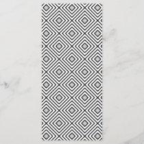 Line geometric Pattern black white 02