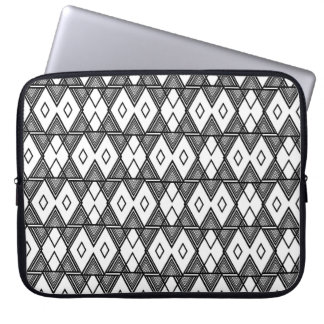 line graphic laptop sleve computer sleeve