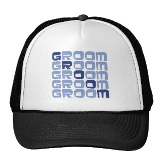 Line Groom Gifts hat