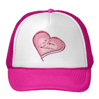 Line Heart Trucker Hat
