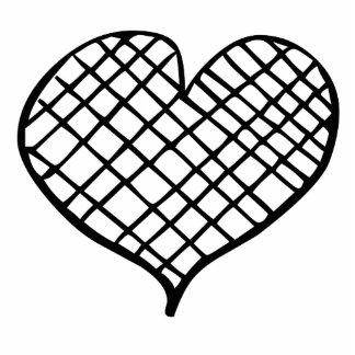 Line Heart Photo Sculpture