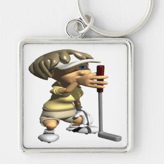 Line It Up Keychain