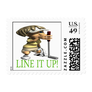 Line It Up Postage
