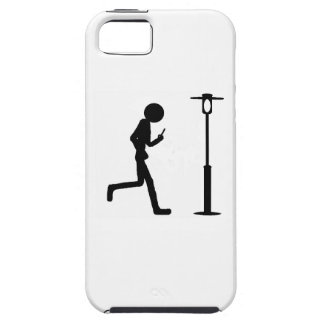Line man runs in lantern iPhone SE/5/5s case