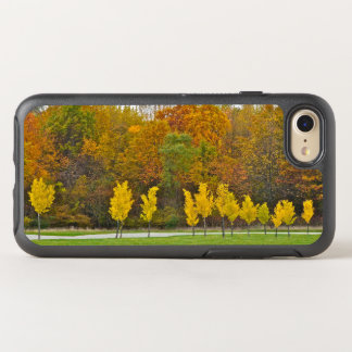 LINE OF BRIGHT YELLOW TREES OtterBox SYMMETRY iPhone 8/7 CASE