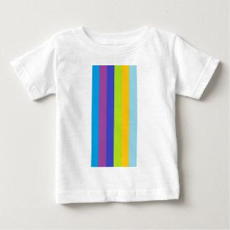 Line of colors infant t-shirt