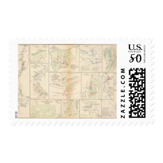 Line of march, 16th AC Postage