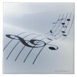 Line of Music Ceramic Tile