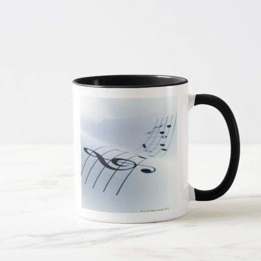Line of Music Mug