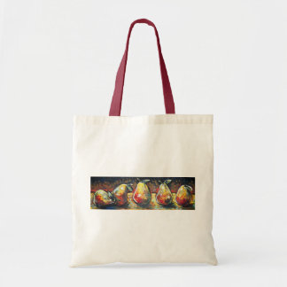 LINE OF PEARS CANVAS BAGS
