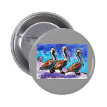 LINE OF PELICANS PIN