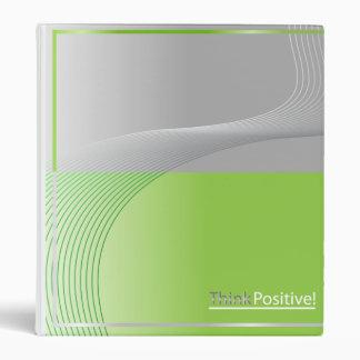 line of positivity 3 ring binder