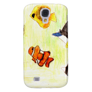 Line of Products aquarium Galaxy S4 Cover
