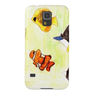 Line of Products aquarium Galaxy S5 Case