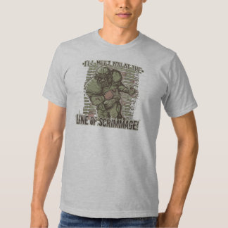 Line of Scrimmage! T-Shirt