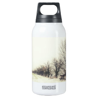 Line of Trees in the Snow SIGG Thermo 0.3L Insulated Bottle