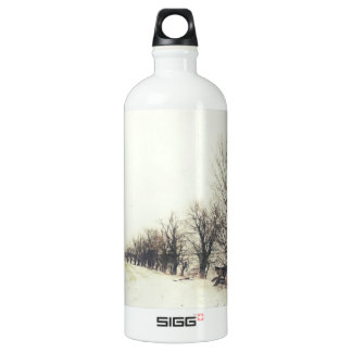 Line of Trees in the Snow SIGG Traveler 1.0L Water Bottle