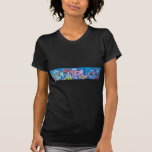 LINE OF TROPICAL FISH T-SHIRTS