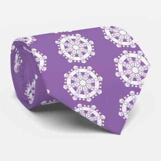 Line person wheel treasure neck tie