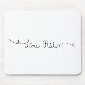 Line Rider Original Logo Mousepad