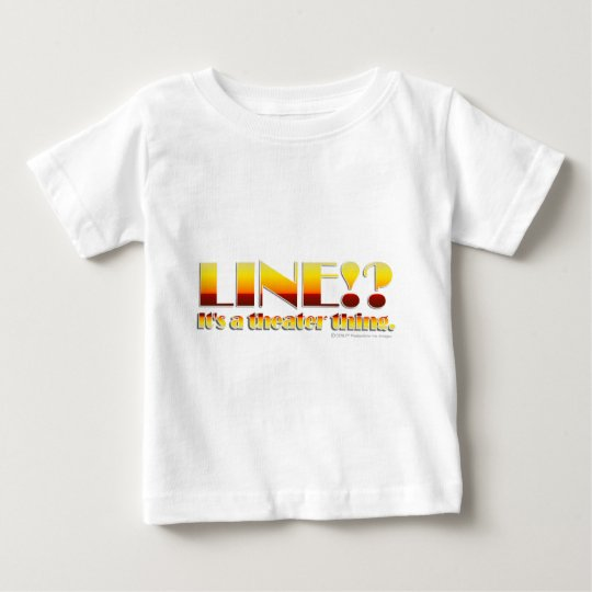 Line!? (Text Only) Baby T-Shirt