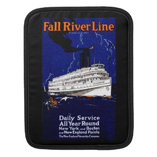 Línea 1910 de buque de vapor de Fall River Manga De iPad