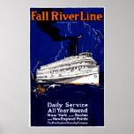 Línea 1910 de buque de vapor de Fall River Impresiones
