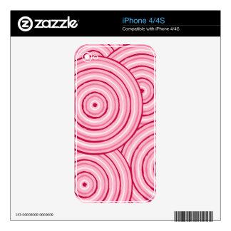 Línea aborigen pintura skin para el iPhone 4
