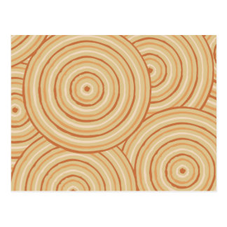 Línea aborigen pintura tarjetas postales