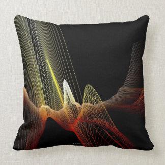 Línea abstracta almohadas