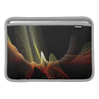 Línea abstracta fundas para macbook air