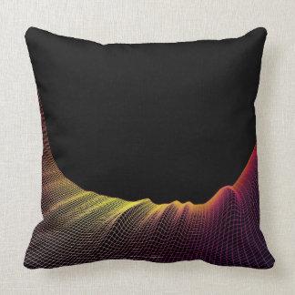 Línea abstracta modelo almohada