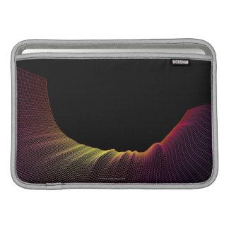 Línea abstracta modelo funda macbook air