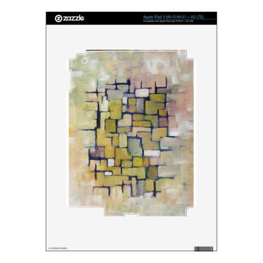 Línea abstracta serie 1 pegatina skin para iPad 3